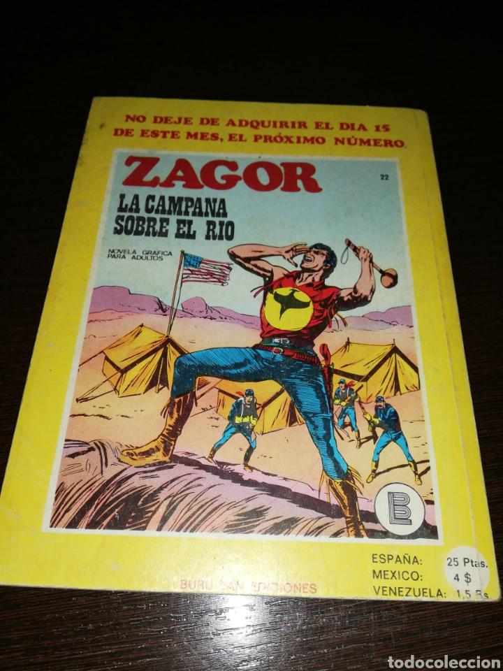 Cómics: ZAGOR El impostor. 21 Cómic 1972 - Foto 2 - 146792464