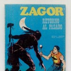 Cómics: COMIC ZAGOR Nº9-RETORNO AL PASADO-EDICIONES BURU LAN-AÑO 1971.. Lote 146923382