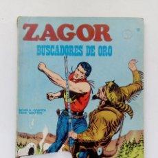 Cómics: COMIC ZAGOR Nº10-BUSCADORES DE ORO-EDICIONES BURU LAN-AÑO 1971.. Lote 146923702
