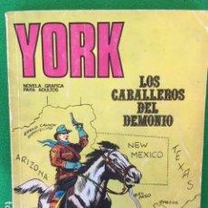 Comics: YORK Nº 3 LOS CABALLEROS DEL DEMONIO - ED. BURU LAN. Lote 147749658