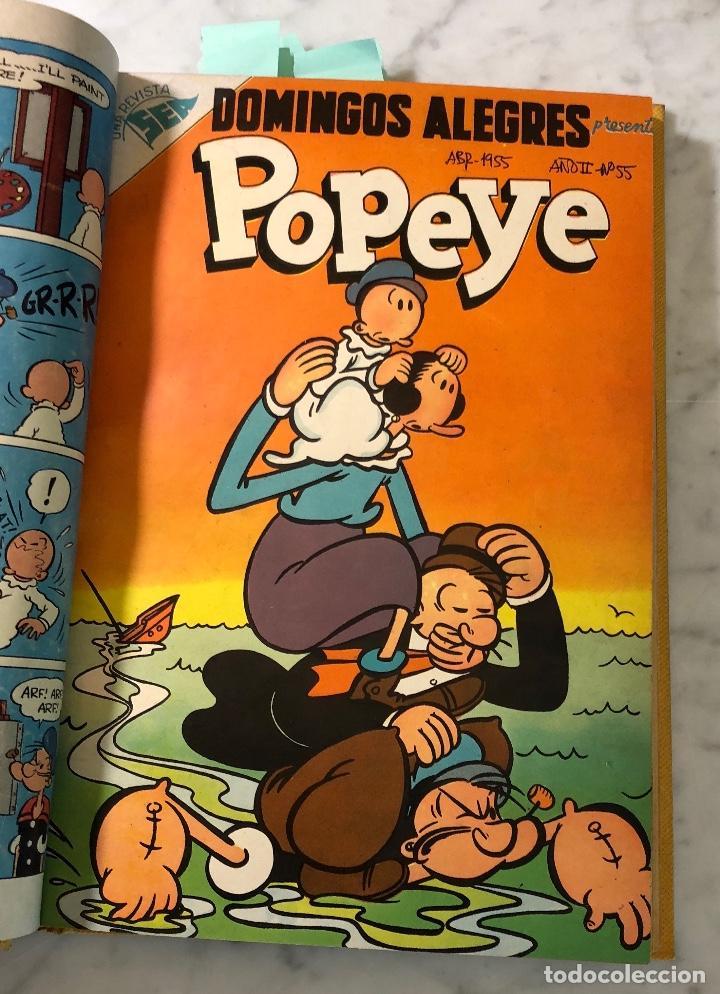 DOMINGOS ALEGRES-POPEYE-Nº55-AÑOII (20€) (Tebeos y Comics - Buru-Lan - Popeye)