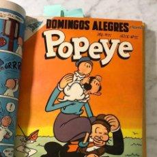Cómics: DOMINGOS ALEGRES-POPEYE-Nº55-AÑOII (20€) . Lote 147759674
