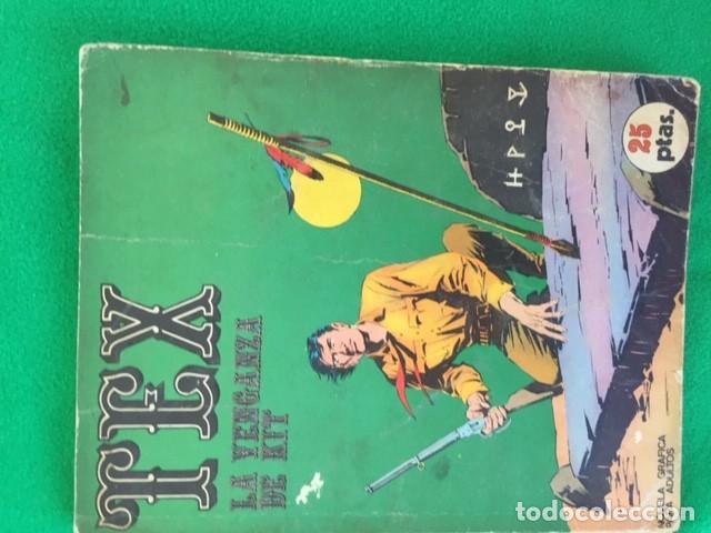 TEX Nº 9 - LA VENGANZA DE KIT - ED. BURU LAN (Tebeos y Comics - Buru-Lan - Tex)