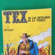 Cómics: TEX Nº 10 - EN LAS ENTRAÑAS DE LA TIERRA - ED. BURU LAN. Lote 147767210