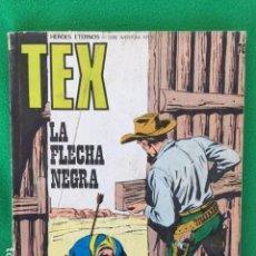 Cómics: TEX Nº 76 - LA FLECHA NEGRA - ED. BURU LAN. Lote 147767550