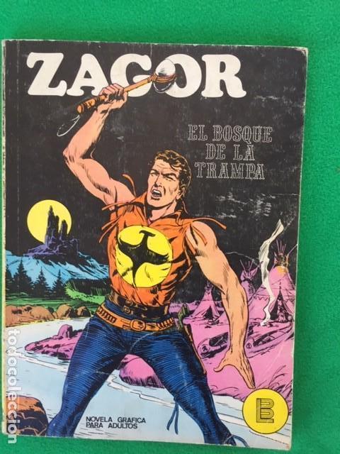 ZAGOR Nº 1 - EL BOSQUE DE LA TRAMPA - ED. BURU LAN (Tebeos y Comics - Buru-Lan - Zagor)