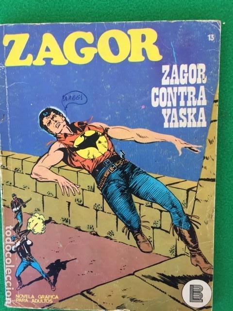ZAGOR Nº 13 - ZAGOR CONTRA YASKA - ED. BURU LAN (Tebeos y Comics - Buru-Lan - Zagor)
