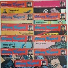 Cómics: JHONNY HAZARD, ANTOLOGÍA DEL CÓMIC BURU LAN, AÑO 1973 (11 EJEMPLARES) COMPLETO. Lote 147776094