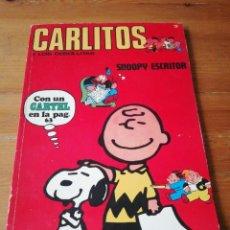 Cómics: CARLITOS Y LOS CEBOLLITAS. NÚMERO 3. SNOOPY ESCRITOR. . Lote 147817214
