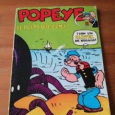 Cómics: POPEYE. NÚMERO 11. EL PULPO QUE FUMA.. Lote 147819926