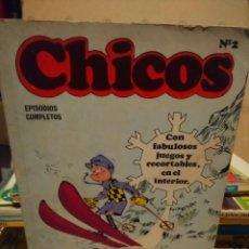 Cómics: CHICOS Nº 2 ( LA ABUELA ATOMICA + AGENTE 001 + ETC. Lote 147934086