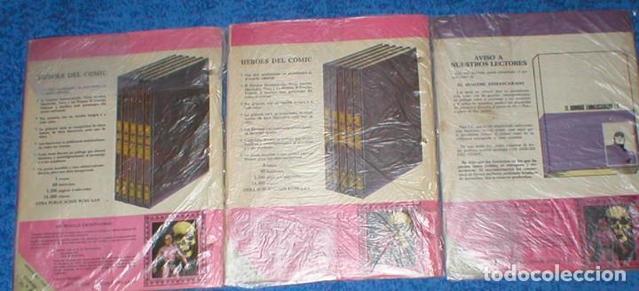 Cómics: Lote 3 Tebeos HEROES DEL COMIC EL HOMBRE ENMASCARADO nº 6 / 8 / 12 ORIGINAL 1971 BURU LAN Oferta !!! - Foto 2 - 148049082