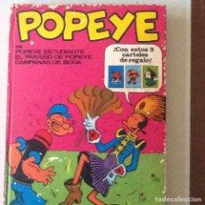 Cómics: POPEYE, TOMÓ VII, 1972.. Lote 148082832