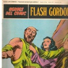 Comics: FLASH GORDON. TOMO 01. FASCÍCULO 013. LA LOCURA DE ZARKOV. HÉROES DEL COMIC. BURU LAN (RF.MA)Ñ5. Lote 148563726
