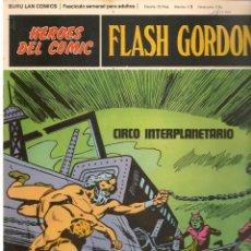 Fumetti: FLASH GORDON. VOLUMEN 6. FASCÍCULO 72. CIRCO INTERPLANETARIO. HÉROES COMIC. BURU LAN (RF.MA)Ñ5. Lote 148572418
