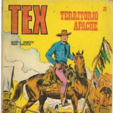 Cómics: TEX. Nº 23. TERRITORIO APACHE. BURU LAN EDICIONES. (RF.MA)PL12. Lote 148691746