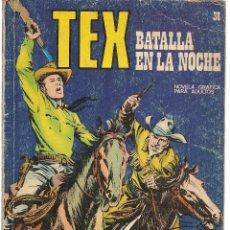 Cómics: TEX. Nº 38. BATALLA EN LA NOCHE. BURU LAN EDICIONES. (RF.MA)PL12. Lote 148694394