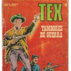 Cómics: TEX. Nº 40. TAMBORES DE GUERRA. BURU LAN EDICIONES. (RF.MA)PL12. Lote 148694634