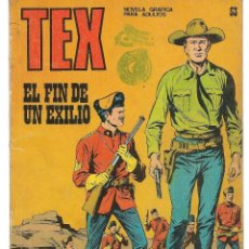 Cómics: TEX. Nº 53. EL FIN DE UN EXILIO. BURU LAN EDICIONES. (RF.MA)PL12. Lote 148695746