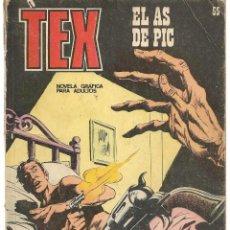 Cómics: TEX. Nº 55. EL AS DE PIC. BURU LAN EDICIONES. (RF.MA)PL12. Lote 148695938