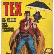 Cómics: TEX. Nº 1. EL VALLE DEL TERROR. BURU LAN EDICIONES. (RF.MA)PL12. Lote 148696530