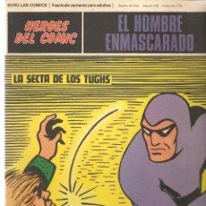 Cómics: EL HOMBRE ENMASCARADO. FASCÍCULO 61. LA SECTA DE LOS TUGHS. HÉROES DEL COMIC. BURU LAN. (RF.MA)Ñ5. Lote 148778250