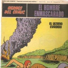 Fumetti: EL HOMBRE ENMASCARADO. FASCÍCULO 69. EL ÚLTIMO EVADIDO. HÉROES DEL COMIC. BURU LAN. (RF.MA)Ñ5. Lote 148779134