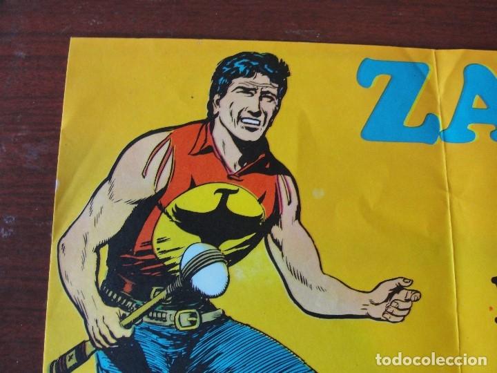 Cómics: ¡¡ poster publicitario para quioscos de ZAGOR !! sin usar stock papeleria - envio gratis - Foto 2 - 148959286