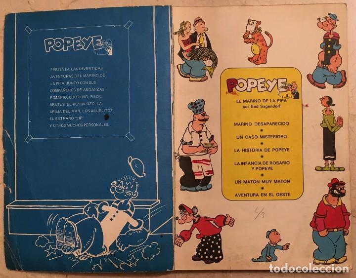 Cómics: Popeye. El marino de la pipa. Nº 2 - Foto 2 - 149489150