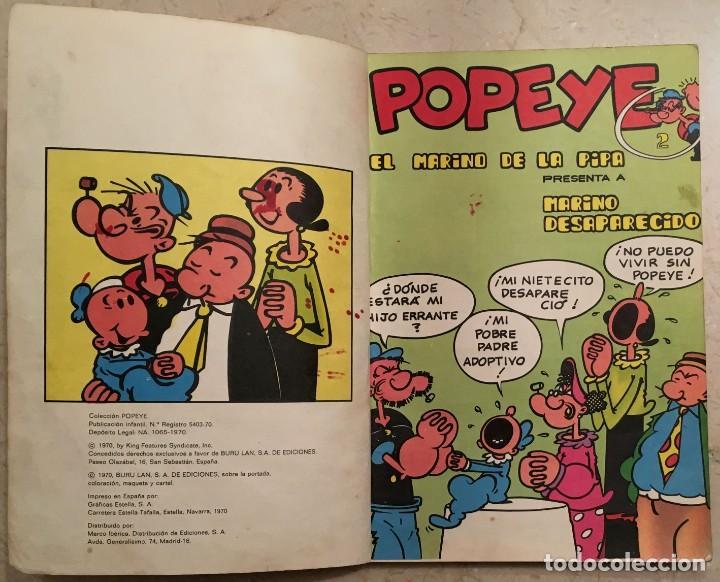Cómics: Popeye. El marino de la pipa. Nº 2 - Foto 3 - 149489150