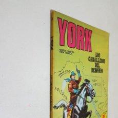 Cómics: YORK. Nº 3. BURU LAN.. Lote 149516390