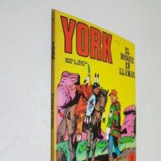 Cómics: YORK. Nº 2. BURU LAN.. Lote 149516606