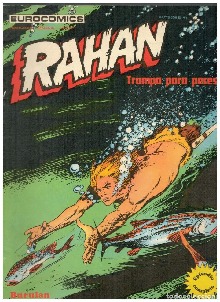RAHAN Nº 2. BUENO. BURU LAN,1974. (Tebeos y Comics - Buru-Lan - Rahan)