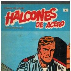 Cómics: HALCONES DE ACERO Nº 4. BURU LAN,1974.. Lote 149632026