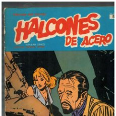 Cómics: HALCONES DE ACERO Nº 5. BURU LAN,1974.. Lote 149632142
