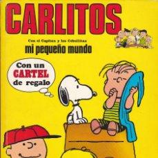 Cómics: COMIC COLECCION CARLITOS Nº 1 CON CARTEL. Lote 149850718