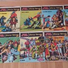 Cómics: HEROES DEL COMIC- PRINCIPE VALIENTE-BURU LAN-NUMEROS DEL 1 AL 10-AÑO 1972-BUEN ESTADO-. Lote 149856010
