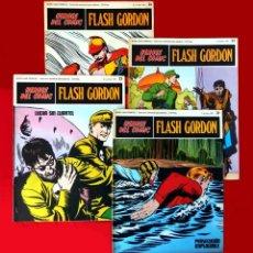 Cómics: FLASH GORDON, LOTE DE 4 FASCÍCULOS; Nº 21- 22- 23- 24 - PERTENECIENTES AL TOMO 2 - 1971 - BURU LAN. Lote 150816154