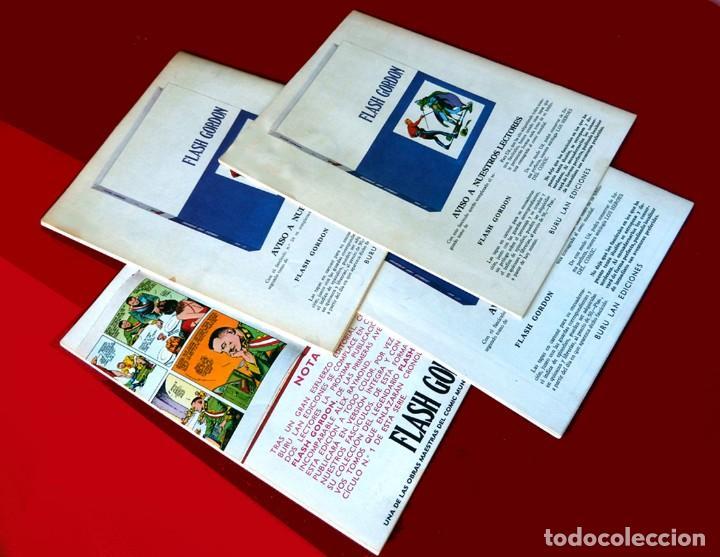 Cómics: FLASH GORDON, LOTE DE 4 FASCÍCULOS; Nº 21- 22- 23- 24 - PERTENECIENTES AL TOMO 2 - 1971 - BURU LAN - Foto 12 - 150816154