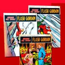 Cómics: FLASH GORDON, 3 FASCICULOS PERTENECIENTES AL TOMO 2, 1971 - Nº 14, 15 Y 16, BURU-LAN COMICS,. Lote 150817998