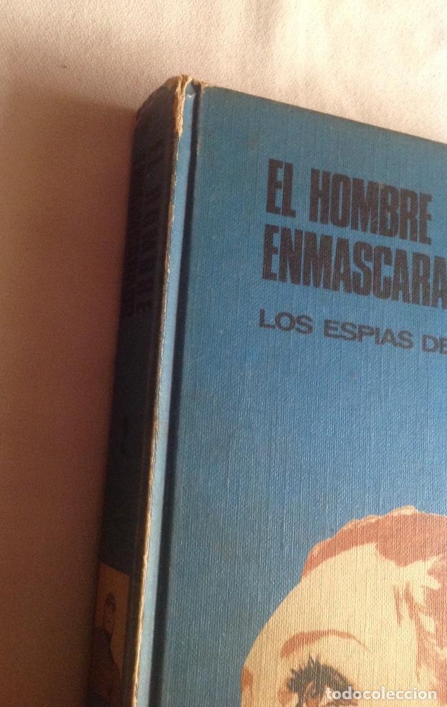 Cómics: EL HOMBRE ENMASCARADO TOMO 2, LOS ESPÍAS DEL ALBASTROS, BURU LAN EDICIONES AÑO 1971. - Foto 2 - 150977234