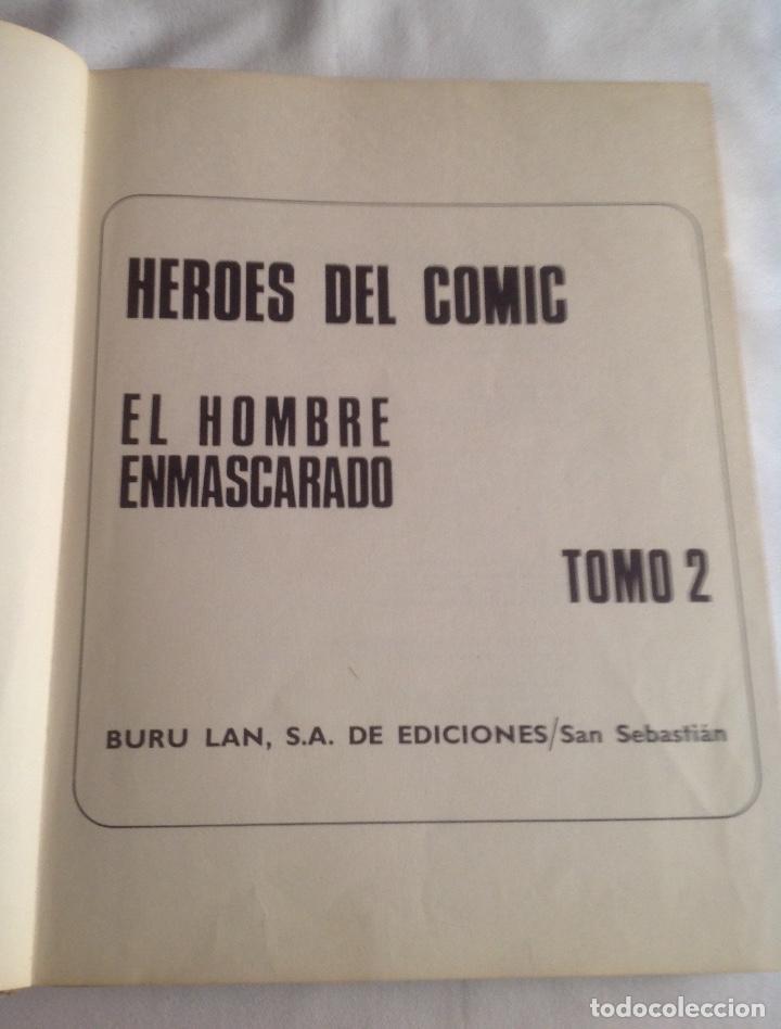 Cómics: EL HOMBRE ENMASCARADO TOMO 2, LOS ESPÍAS DEL ALBASTROS, BURU LAN EDICIONES AÑO 1971. - Foto 6 - 150977234