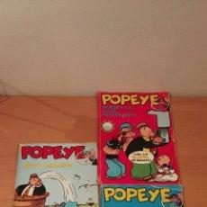 Cómics: POPEYE 8-16-17. ED. BURU LAN 71-72. Lote 150982517