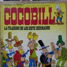 Cómics: HÉROES DE PAPEL, COCOBILL - Nº 7 - ED. BURU-LAN. Lote 151072894
