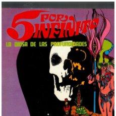 Comics: 5 POR INFINITO -LA DIOSA DE LAS PROFUNDIDADES- TOMO DE 120 PÁGINAS.BURU LAN,1971.EXCELENTE.. Lote 151161558