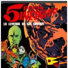 Comics: 5 POR INFINITO -LA LEYENDA DE LAS SIRENAS- TOMO DE 120 PÁGINAS.BURU LAN,1971.EXCELENTE.. Lote 151161622