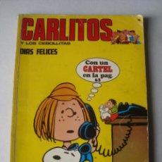 Comics: CARLITOS: DÍAS FELICES / LOS CEBOLLITAS (BURU-LAN, N.º 14, 1972). CHARLES SCHULZ Y DIRKS.. Lote 151201334