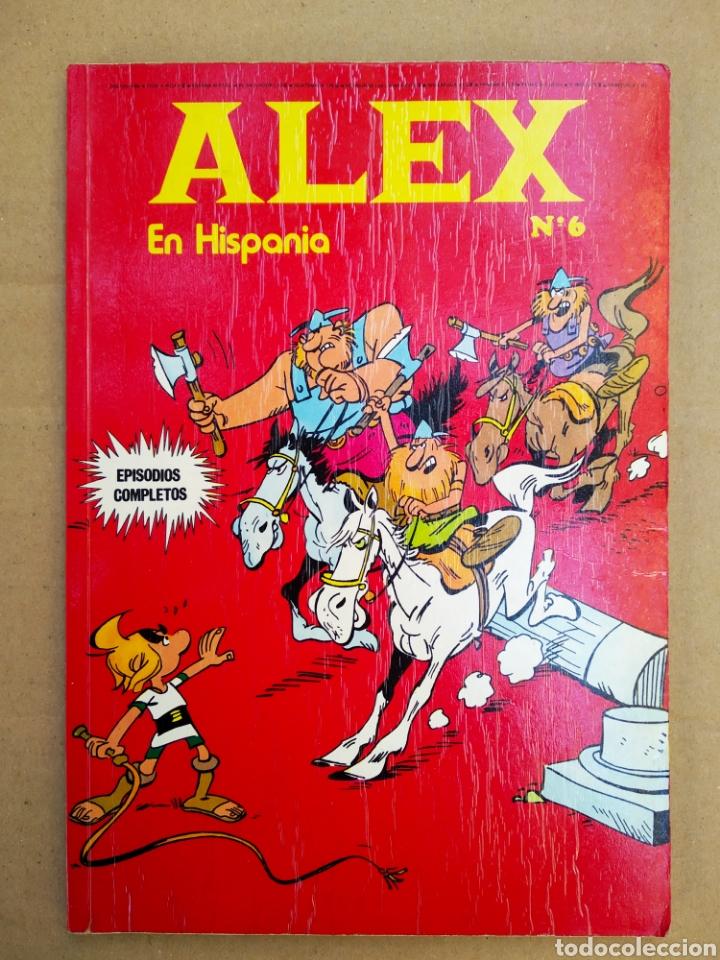 ALEX EN HISPANIA N°6 (BURU LAN, 1973). 64 PÁGINAS A COLOR MÁS CUBIERTAS EN RÚSTICA. (Tebeos y Comics - Buru-Lan - Otros)