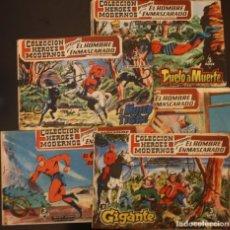 Cómics: 5 EJEMPLARES DE EL HOMBRE ENMASCARADO DE 1958. Lote 151503470