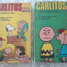 Cómics: LOTE CARLITOS Y LOS CEBOLLITAS SNOOPY. BURU LAN 1971.. Lote 151570181